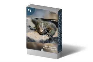 Photoshop Schärfefilter Tieraufnahmen