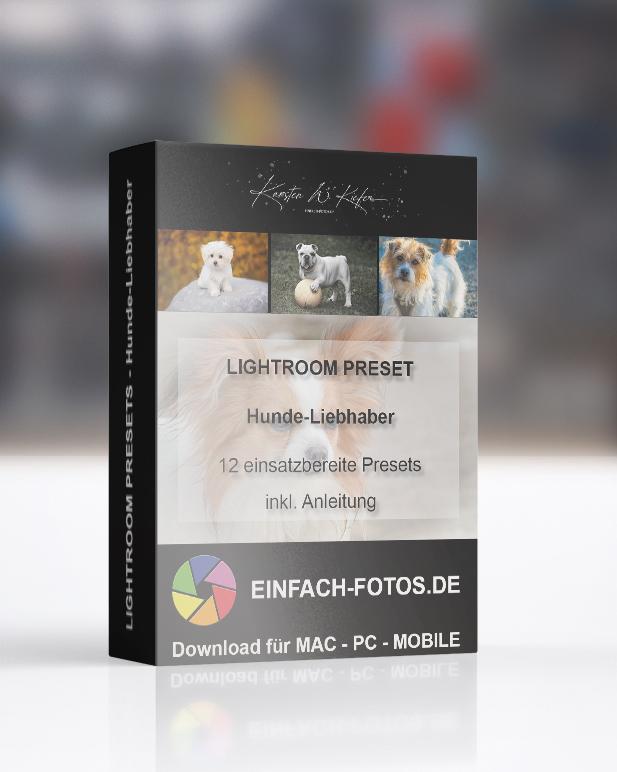 Hundefotografie Lightroom Presets