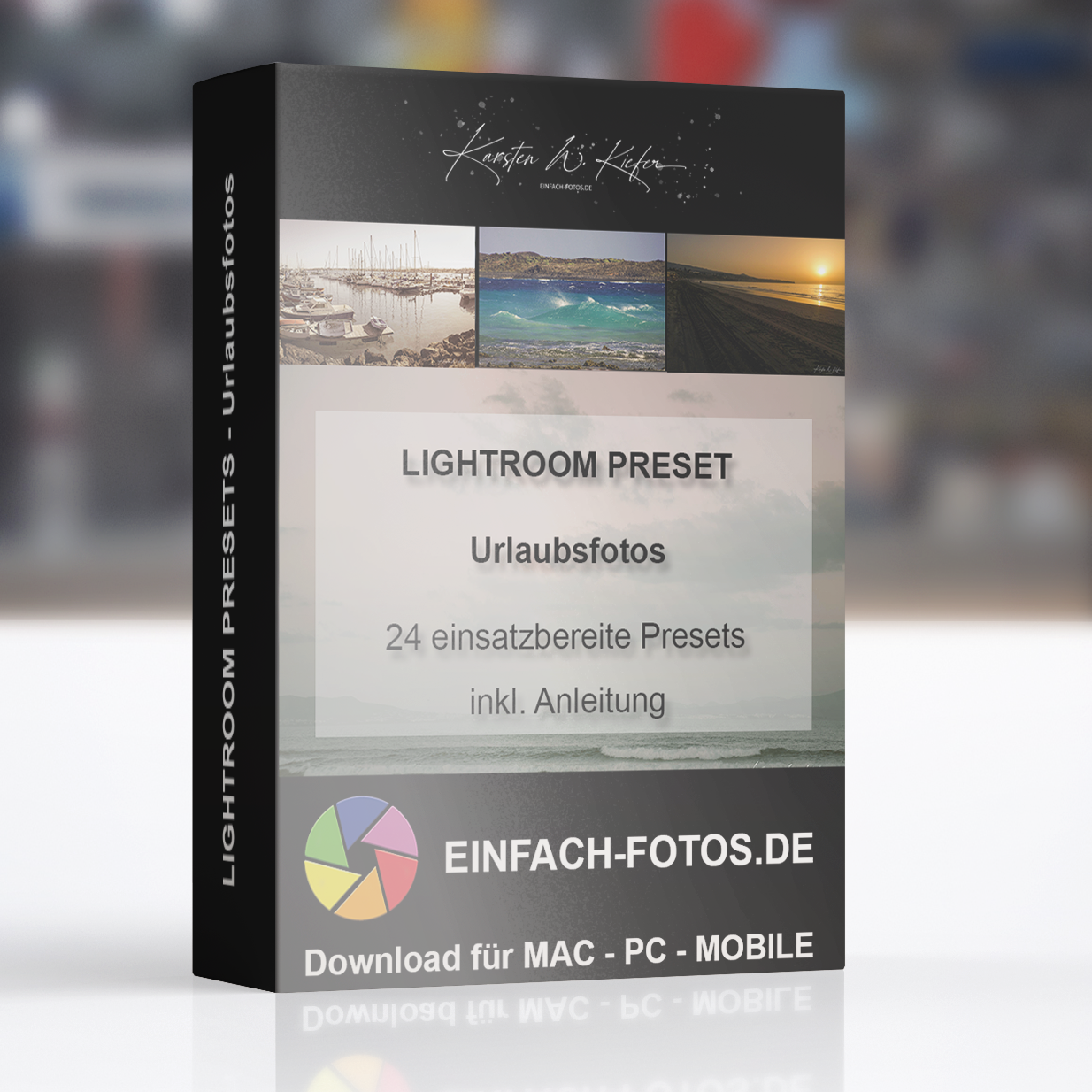 Lightroom Presets für Urlaubsfotos