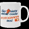 Kaffeetasse für coole Fotografen